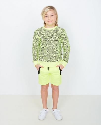 Fluogele sweater